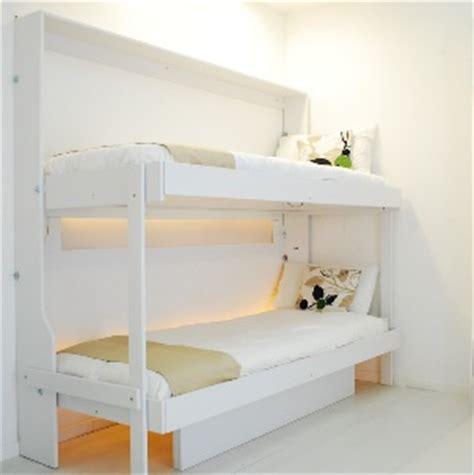 letti chiudibili a parete mobile letto doppio a orizontale con due letti