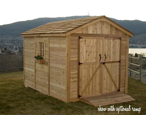 Garden Sheds by Franz Storage Building Plans 8x12