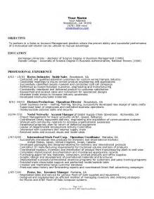 sample resume for small retail business owner