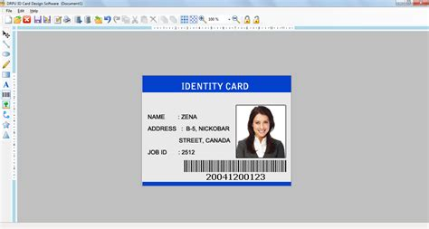 id card designer for mac design and print multiple id id card design software bulk personalized customized badge
