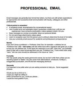 Business Email Template by Professional Business Email Format Best Business Template