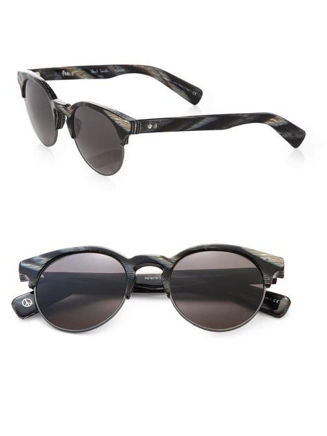 Half Sunglasses paul smith jameston half wayfarer sunglasses in black for
