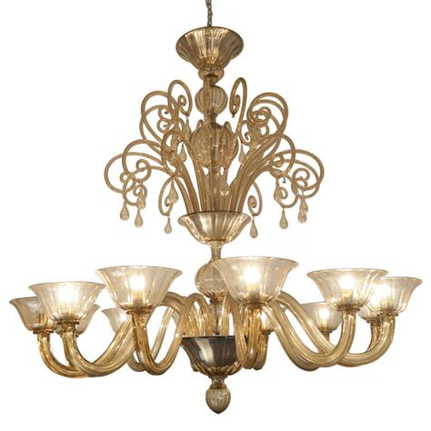 1930s Chandelier Barovier And Toso Chandelier Murano 1930s At 1stdibs