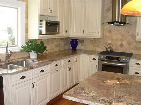 kitchen backsplash ideas with cream cabinets cream maple kitchen cabinets microwave cabinet painted