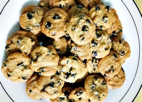 resepi biskut chocolate chip viral ala ala famous amos