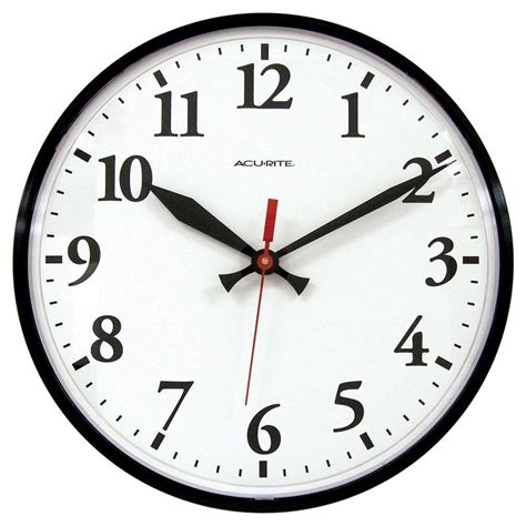 best office wall clock 12 5 inch wall clock acurite