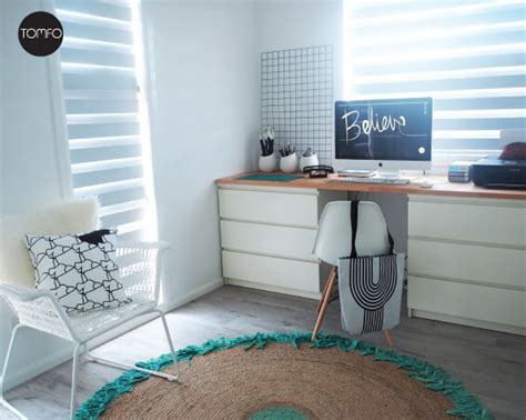 diy desk for two diy desk with two drawers and a of wood tomfo