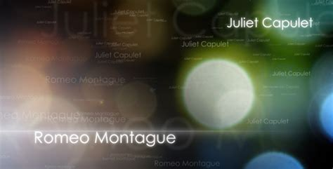 50 Best Adobe After Effects Templates Template Idesignow Romeo And Juliet Powerpoint Template