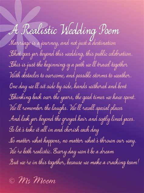 26 best Wedding Poems images on Pinterest