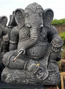 Elephant Statue Des Statues De Bouddha Et De Ganesh En Pierre De Lave