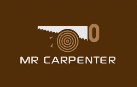 mr carpenter logo template free vector logo template