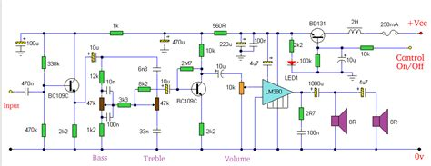 with tone controls circuit diagram world