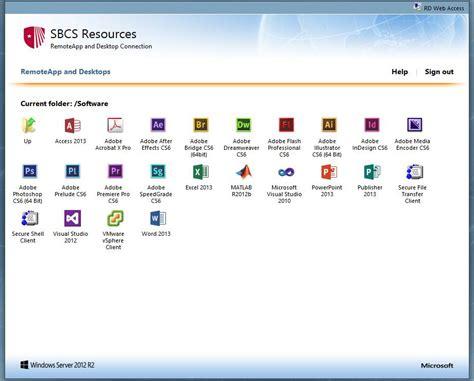 for rdp access sbu computer science department remote desktop web access