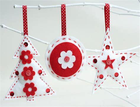 moldes de adornos fieltro para arbol 10 ideas para hacer tus adornos navide 241 os en fieltro