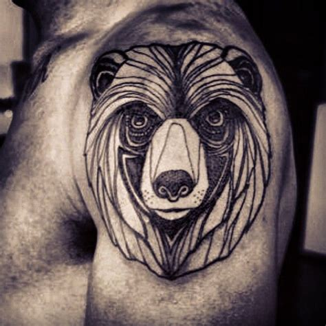 brother bear tattoo line tattoos be cool