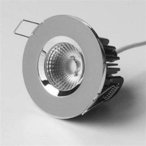 led light fittings chrome elan ip65 10 watt cob led light fitting
