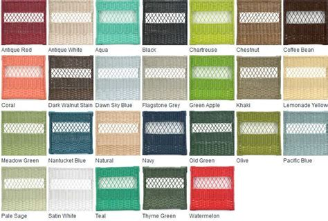 cottage wicker colors diy