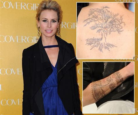 niki taylor tattoos niki the tattoos zimbio