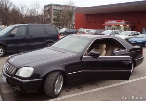 1996 Mercedes S Class 1996 Mercedes S Class Information And Photos