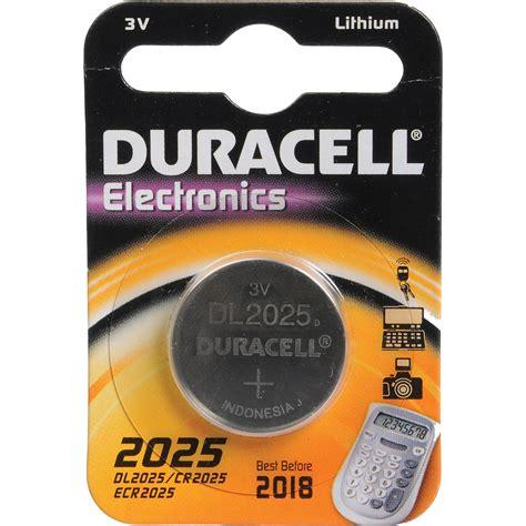 Gp Baterai Cr2025 Battery Batre Lithium Cr2025 1 duracell cr2025 3v lithium battery 160mah dl2025b b h photo