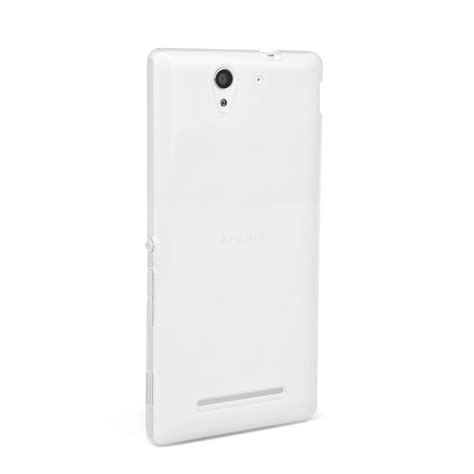 Silicon Nokia C3 02 yousave accessories sony xperia c3 silicone gel clear
