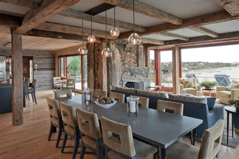 The Nest Rustic Dining Room Boston By Hutker Dining Rooms Boston