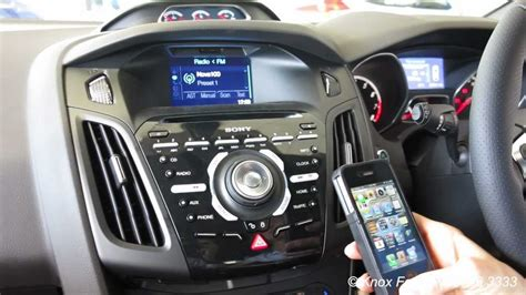 ford sync navigation not working ford how to connect bluetooth phone with ford focus