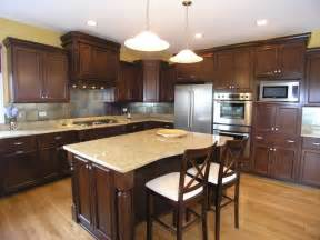 kitchen cabinets with light granite countertops kitchen cherry kitchen cabinets with granite countertops