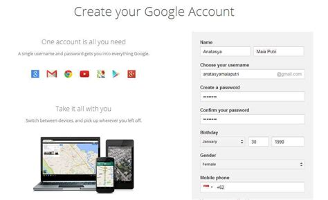 membuat account google mail cara membuat email baru di google mail gmail