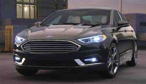 Ford Fusion 2020 by 2020 Ford Fusion Redesign Ford Trend