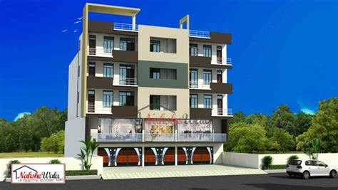 Kerala Home Design Gallery by Residential Commercial Elevation 3d Front View Design