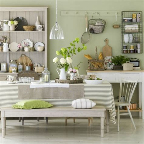 Kitchen Decor Ideas Green Kitchen Dining Room Ideas On Green