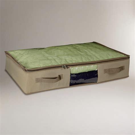 Mattress Bag For Storage by Bed Cedar Canvas Storage Bags Set Of 2 World Market