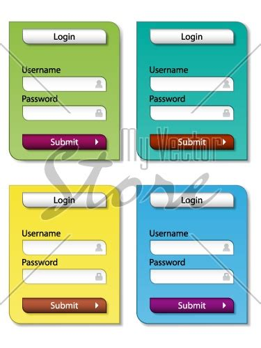 web forms design templates vector web form design templates illustration 2507 my