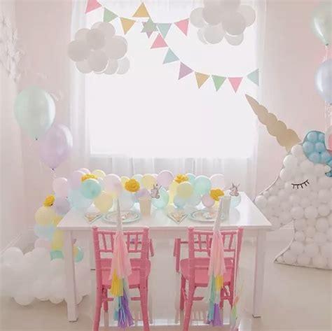 como decorar un pastel de unicornio en casa de cumplea 241 os de unicornios todo para su decoraci 243 n
