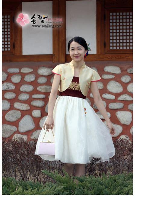 Hanbok Remaja dress tradisional korea hanbok sidrap gaul