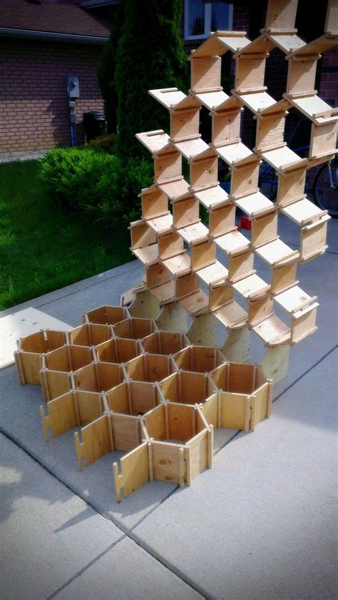 pin  woodworking outdoor storage benches