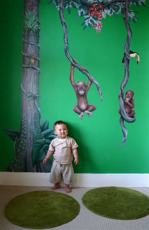 monkey wall murals 8 best wall murals