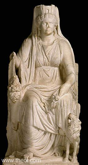 Cybele   Ancient Greco Roman Statue