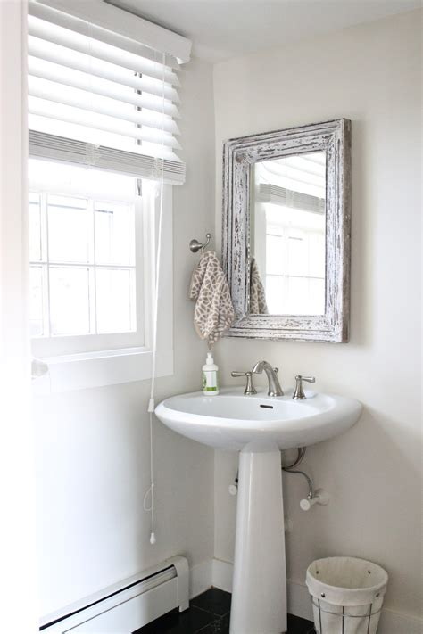 Home Goods Bathroom Mirrors by The Picket Fence Projects Ch Ch Ch Changes In The Bathroom