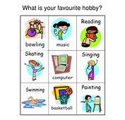 PPT  What Is Your Favourite Hobby PowerPoint