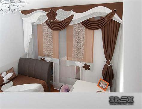 unique curtains design  lovely house ambient