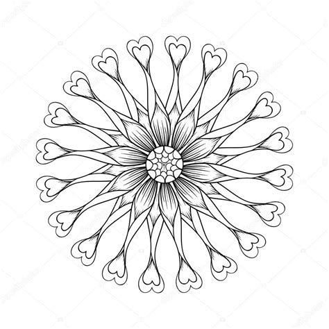 coloring page with osteospermum flowers flower power