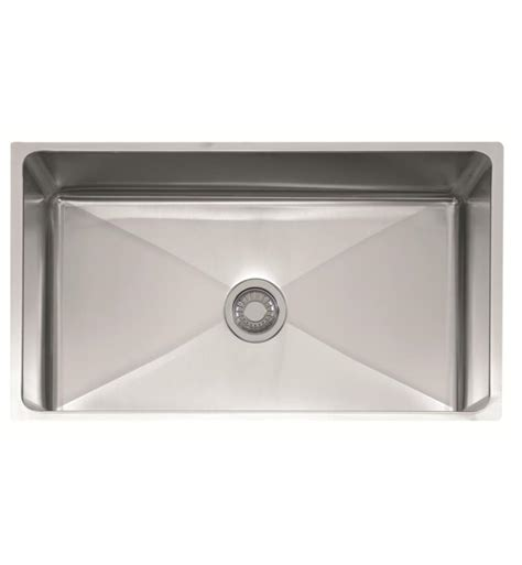 34 stainless steel kitchen sink franke psx1103312 professional 34 quot single basin undermount