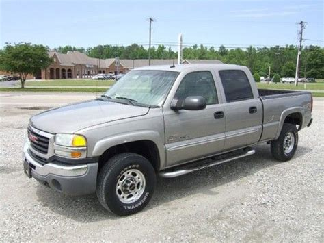 how to fix cars 2003 gmc sierra 2500 parking system sell used 2003 gmc sierra 2500 crewcab duramax diesel 4wd in providence forge virginia united