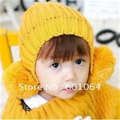 Topi Syal Anak Rajut Wool Domba jual topi bayi lucu dan unik