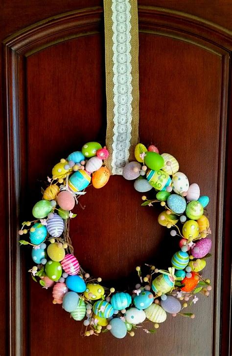 50 Spring And Easter Wreaths With Fresh Designs | 50 spring and easter wreaths with fresh designs