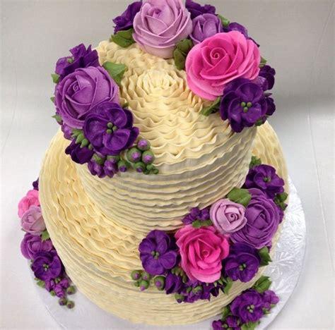torta con flores de buttercream tortas tortas con flores tortilla y flores boquillas para decorar con manga en un solo paso cookisimo com
