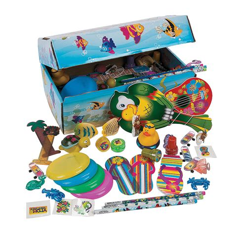 Treasure Chest Giveaways - tropical treasure chest assortment oriental trading