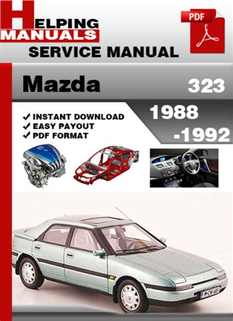 mazda 323 1988 1992 service repair manual download download manua